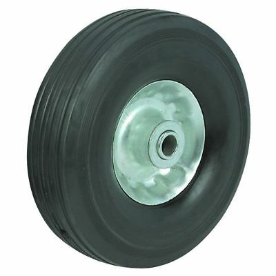 """8"""" inch Solid Tire for Hand Truck Rubber Dolly Wheel Barrel w/ 5/8"""" Axle Hole"""