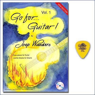 Go for Guitar 1 - Joep Wanders - CD, Dunlop Plektrum - BVP1646 - 9990050837729