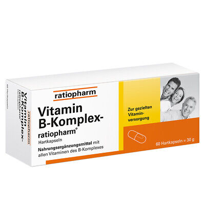 VITAMIN B KOMPLEX RATIOPHARM PZN:04132750