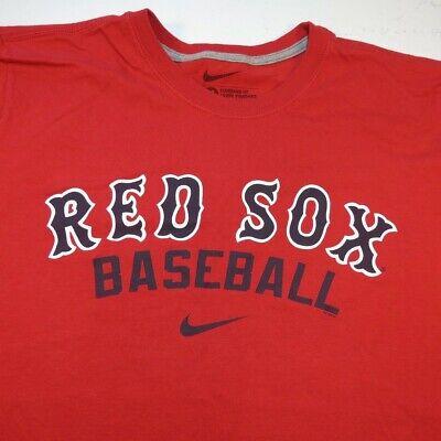 NIKE BOSTON RED SOX MLB BASEBALL TEE T SHIRT Sz Mens M standard fit