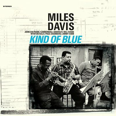 Miles Davis KIND OF BLUE (950619) 180g LIMITED EDITION New Blue Colored Vinyl