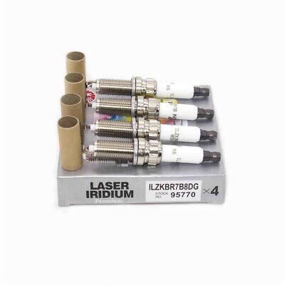 4x ILZKBR7B8DG 95770 Iridium Spark Plugs For Mini Cooper Countryman Paceman 1.6L