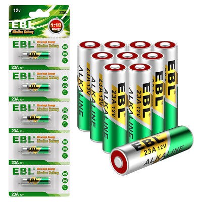 10Pcs 23A 23GA A23 23AE 21/23 GP23A MN21 VR22 12V Alkaline Battery Doorbell Toys