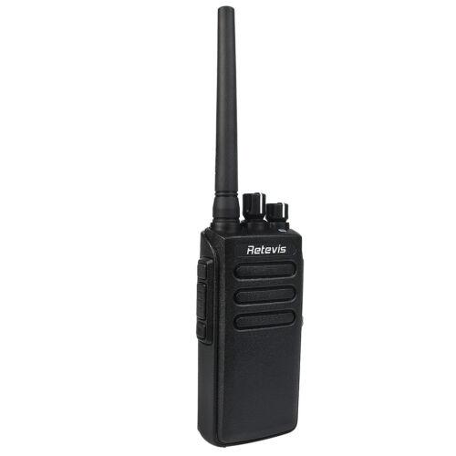 Walkie Talkies DMR Funkgeräte UHF Digitale 32 Kanäle 2200mAh IP67 Retevis RT81