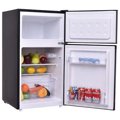 Kühlschrank mit Gefrierfach Gefrierschrank Kühl Gefrierkombination A 85L Kühlschrank-schrank