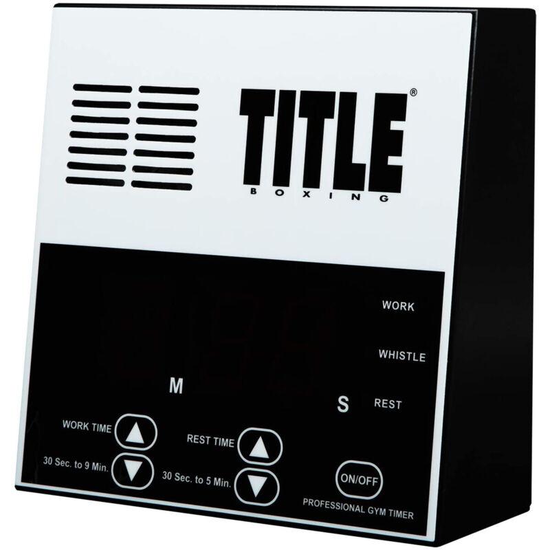 Title Boxing Pro Digital Gym Timer