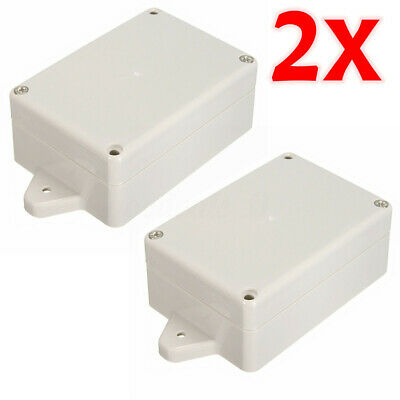 2pcs Plastic Electronic Project Cover Box Enclosure Case 85x58x35 Waterproof