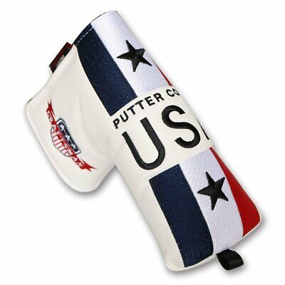 USA Blade Putter Cover Magnetic Headcover For Scotty Cameron Cleveland Ping NEW Magnetic Blade Putter Cover