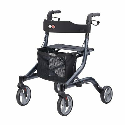 B+B Capero - best Lightweight Walker Rollator Foldable seat German