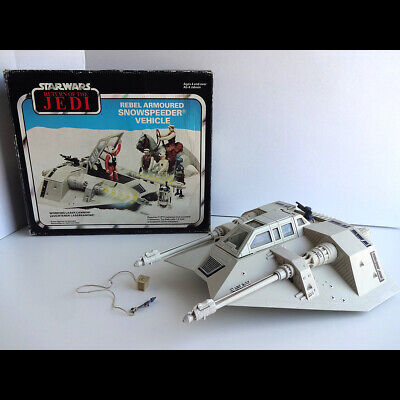 Vintage 1983 Star Wars Palitoy Division Snowspeeder Boxed & Complete