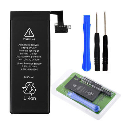 For Apple iPhone 4S 4GS Original OEM 1430mAh Internal 3.7V Li-ion Battery + Tool