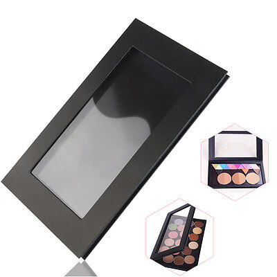 DIY Empty Magnetic Cosmetics Case Makeup Palette for Eyeshadow Blush Powder BLK