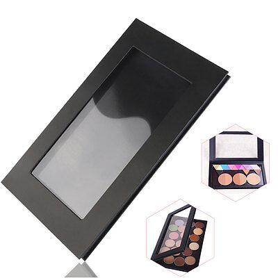 DIY Empty Magnetic Cosmetics Case Makeup Palette for Eyeshadow Blush Powder BLK
