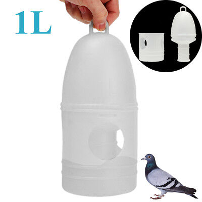 1000ML 1L Removeble Plastic Drinker With Handle For Pigeons Birds Supplies