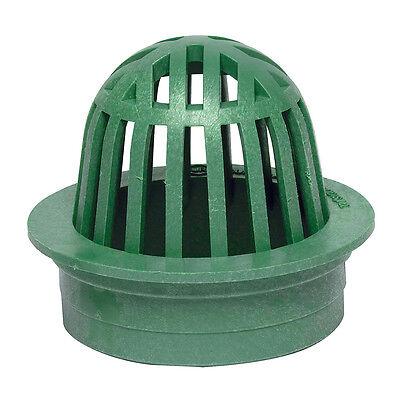 StormDrain FSD-060-A 6″ Round Plastic Atrium Catch Basin Drain Grate – Green Bath