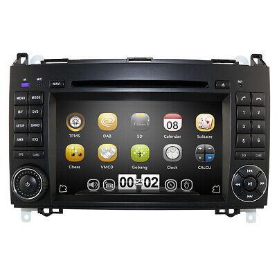 """Für Mercedes Benz Sprinter W906 GPS Autoradio DVD Navigation HD 7"""" MP3 Bluetooth"""