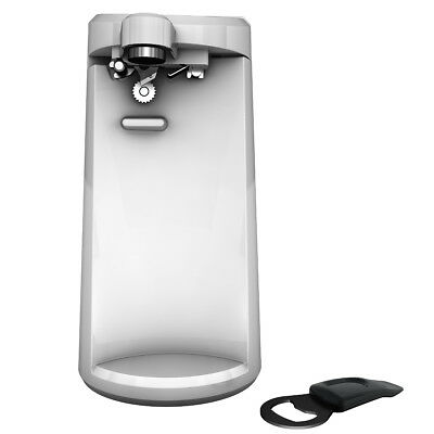 Black + Decker Easy Cut Electric Can Opener - white - w / sh