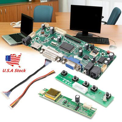 US! M.NT68676.2A(HDMI+DVI+VGA+Audio) LCD/LED Screen Controller Board Diy Monitor