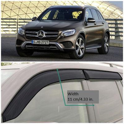 ME34515 Fenster Visiere Lüftungsschlitz Breit Deflektoren für Mercedes Glc (X253