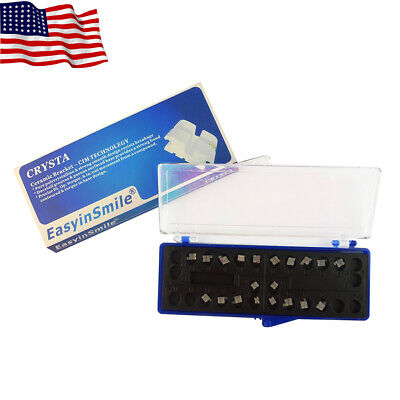 1pack Easyinsmile Orthodontic Ceramic Bracket Braces Rothmbt 018022 3 345 Hook