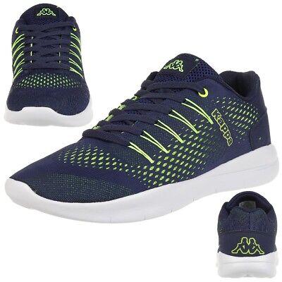 Kappa Nexus Sneaker unisex Turnschuhe Schuhe navy/lime Unisex Navy Schuhe