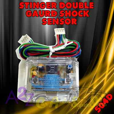 NEW DEI 504D STINGER DOUBLE GUARD SHOCK SENSOR CAR ALARM VIPER CLIFFORD PYTHON