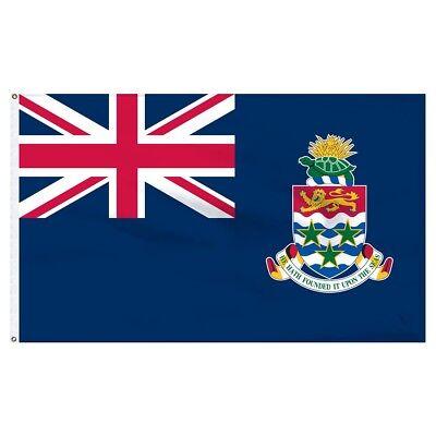 3'x5' Cayman Islands Flag Outdoor Indoor Banner Caribbean British Territory 3x5