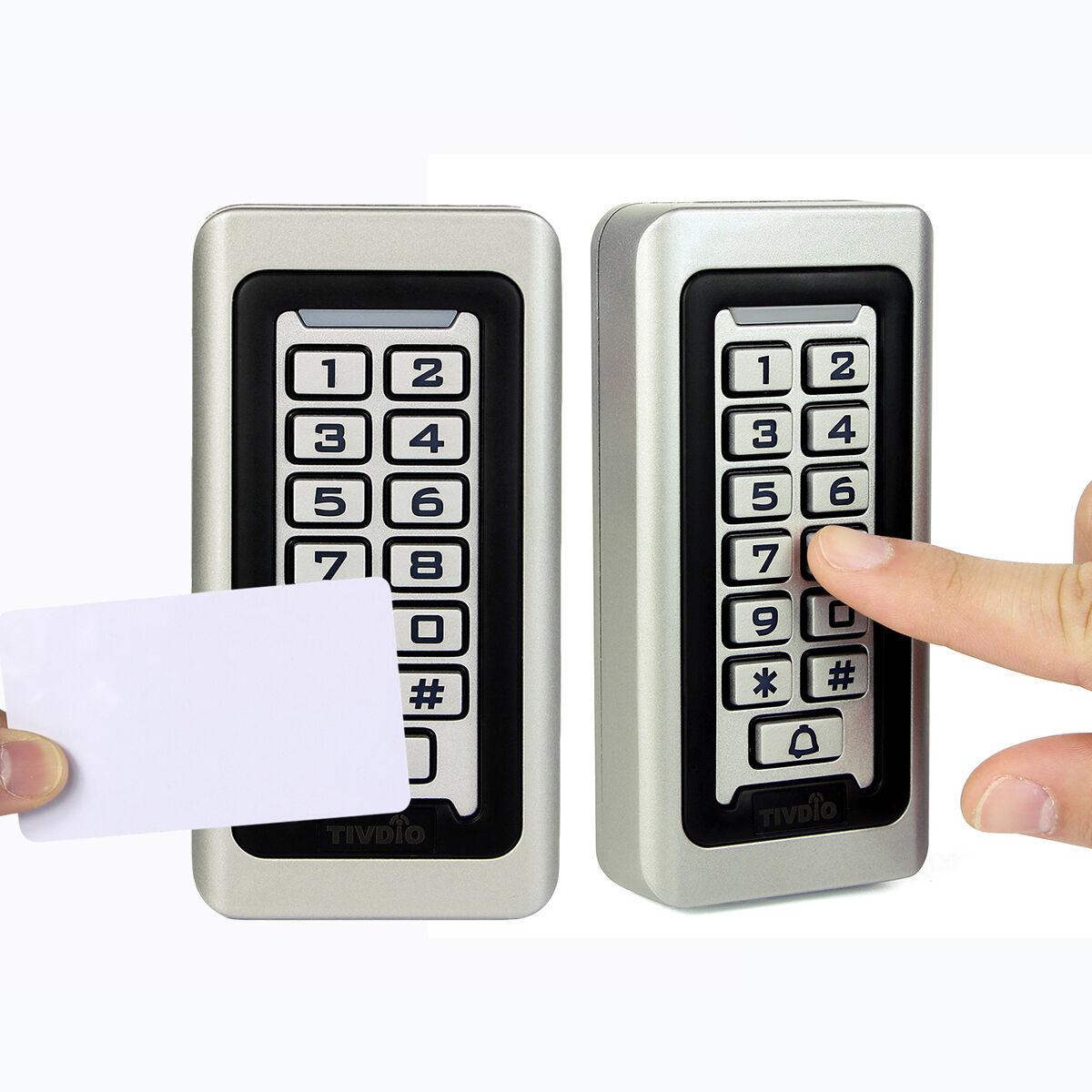 Codeschloss PIN-Code RFID-Karte Wasserdicht IP68 für Fabrik 2000Benutzer Zuhause