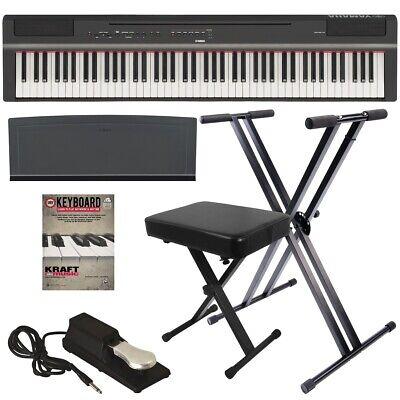 p 125 digital piano black key essentials