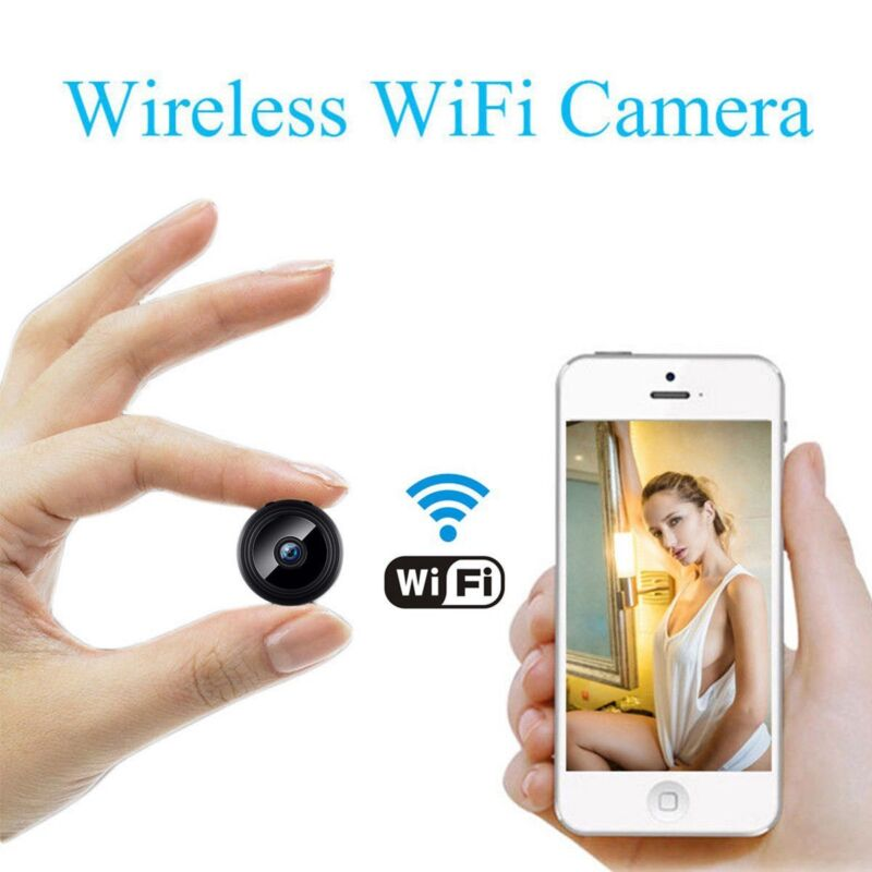 Mini IP Camera Wireless Wifi IP Home Security HD 1080P DVR Night Vision Remote