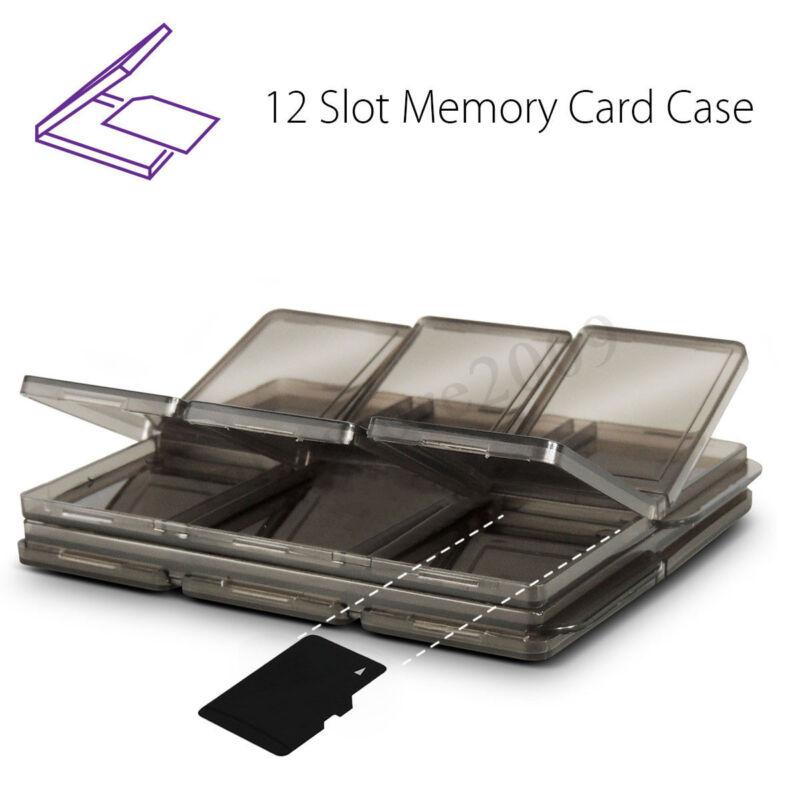 Foldable SIM Card Holder Micro SD TF MMC Memory Card Storage Case Protector Box