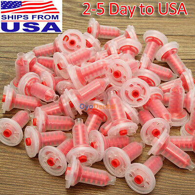 50 Pcs Dental Dynamic Impression Mixing Tips Fits For Espe Pentamix Type Machine