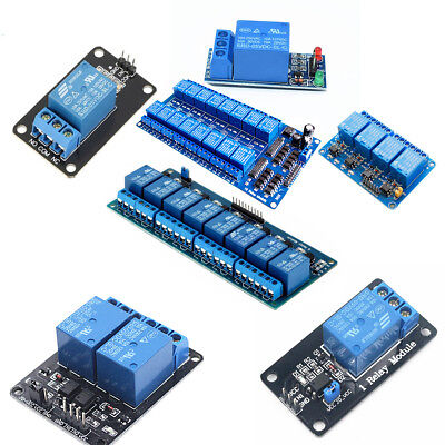 1 2 4 8 16 Channel Relay Module 5V Optocoupler LED for Arduino PiC ARM AVR