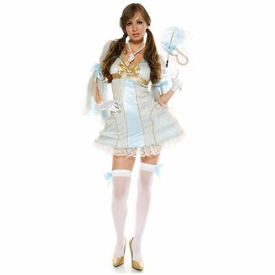 Couture Ballroom Lady Costume Halloween Fancy Deluxe Dress Forplay USA Last XS ()