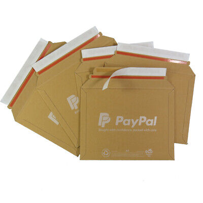 5 x PAYPAL A1 SIZE LIL CARDBOARD RIGID POSTAL ENVELOPES 235x180mm (D/1) MAILERS