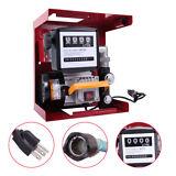 110V Electric Diesel Oil Fuel Transfer Pump w/ Meter +Hose & Nozzle New