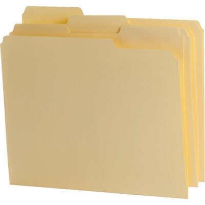 Pendaflex File Folder - Letter Size Manila 13-cut Tab - Pick Your Of Folders