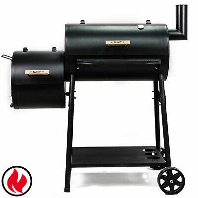 TAINO BAYAMO Smoker BBQ Grillkamin Räucher-Ofen Holzkohle-Grill