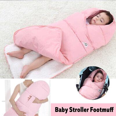 95x45cm Baby Stroller Footmuff Blanket Sleeping Bag Pushchair Pram Seat