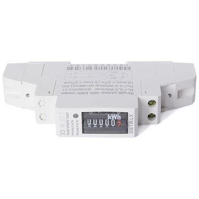 Misuratore di Energia Singola Fase Corrente Elettrica Contatore 230V 5(30)A BI41