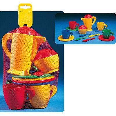 Spielzeug Kaffeeservice 16 tlg. Puppengeschirr Spielgeschirr Geschirr Spielküche