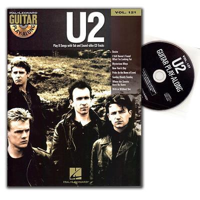 U2 guitar playalong vol.121 songbook - Hal Leonard - HL00701508 - 9781423475231
