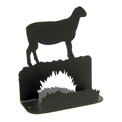 Ram Black Metal Business Card Holder