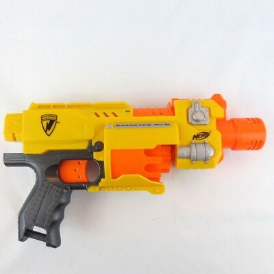 Used, Nerf N-Strike Barricade RV-10 Motorized Soft Dart Gun  for Play or Mods - Tested for sale  Mansfield