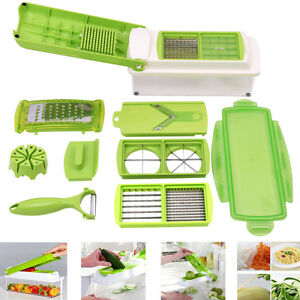Fruit Vegetable Multi Nicer Dicer Slicer Plus Peeler Cutter Chopper Container