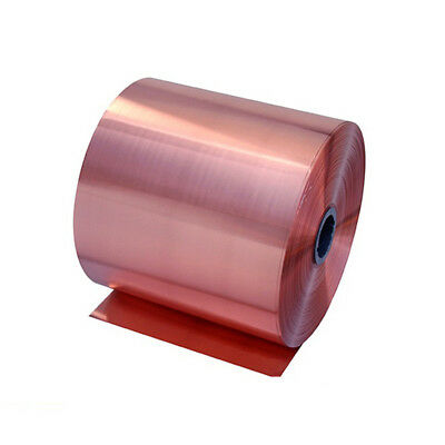 99.9 Pure Copper Cu Metal Sheet Foil 0.1 X 100 X 200mm For Handicraft Aerospace