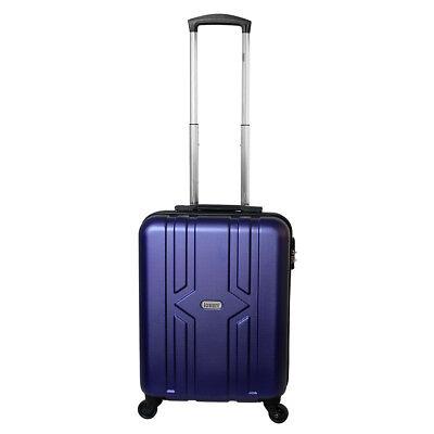 Equipaje de mano rígida con ruedas equipaje de mano 30 litros azul 821, usado segunda mano  Embacar hacia Spain
