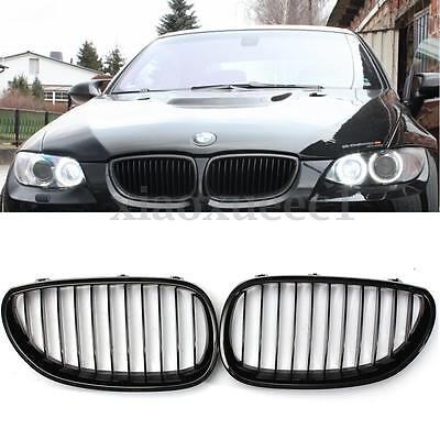 FITS BMW E61 5 SERIES 03-10 REAL BLACK LEATHER STEERING WHEEL COVER M3 STRIPES