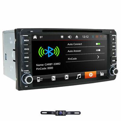 Camera+Touch Screen Car DVD GPS Radio for Toyota Camry RAV4 Corolla Hilux Tundra