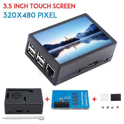 "3.5"" 320*480 TFT Touch Screen LCD Display Case For Raspberry Pi A B A+ 2B 3B 3B+"